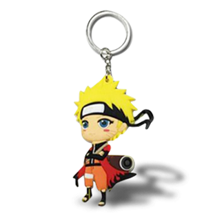 Naruto Sage Mode Mini Figure Keychain