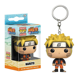 Funko Pop Naruto Action Figure Keychain