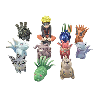 Naruto with Tailed Beasts Action Figure