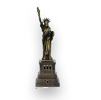 Statue of Liberty Metal Decoration