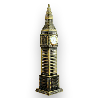 Big Ben Metal Decoration
