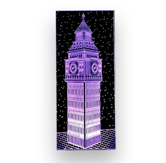 Big Ben Acrylic Stand Color Changing LED