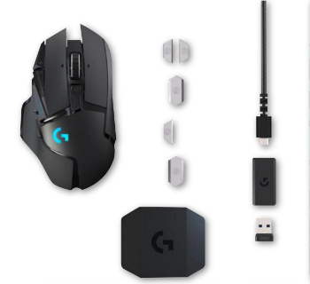 Logitech G502 HERO - LIGHTSPEED Wireless Gaming Mouse 16K DPI