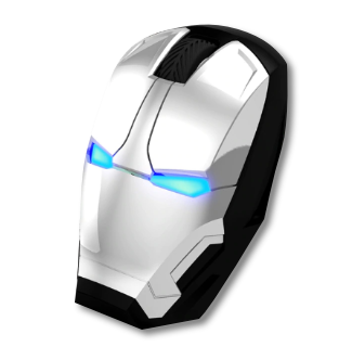War Machine Silent Click Wireless Mouse Adjustable DPI