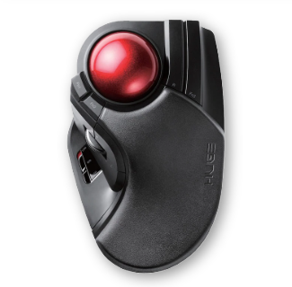 2.4G Wireless Trackball DIP Adjustable Mouse For Professional CAD Drawing