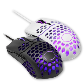 Cooler Master MM711 60G RGB Gaming Mouse - Lightweight Honeycomb Shell 16000 DPI