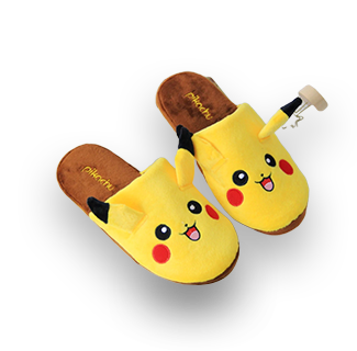 Pikachu House Slippers
