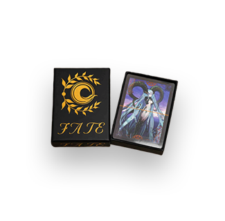 Fate Poker Playing Cards Gold
