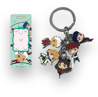 Fate Stay Night Characters Key Ring