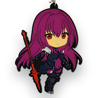 Lancer Scathach PVC Keychain