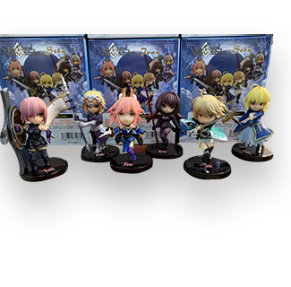 6pcs FGO Q Collection Action Figure