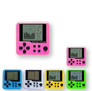 Mini Handheld Tetris Game Console