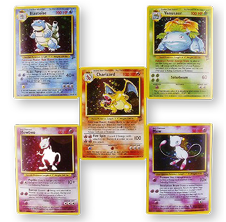 First Generation Rare Pokemon Card Collection