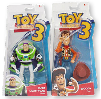 Toys Story - Woody & Buzz Lightyear Action Figure