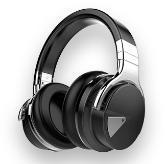 Cowin E7 ANC Wireless Bluetooth Noise Cancelling Headphones (Black)