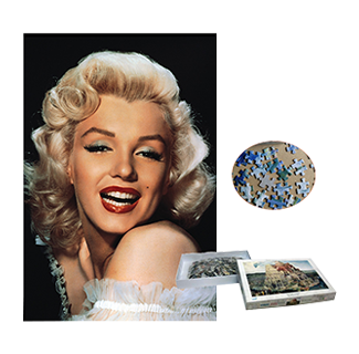 Famous Actress Marilyn Monroe Jigsaw Puzzle (1000)