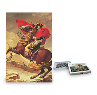 Napoleon Crossing The Alps Jigsaw Puzzle (1000)