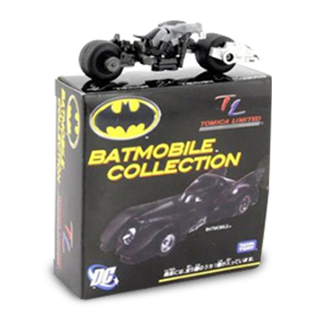 Tomica Batmobile Collection - Batcycle Action Figure