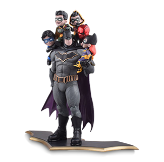 Batdad and Family 37cm PVC Action Figure