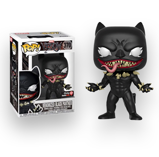 Funko Pop Venomized Black Panther Action Figure