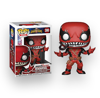 Funko Pop Venomized Deadpool Action Figure
