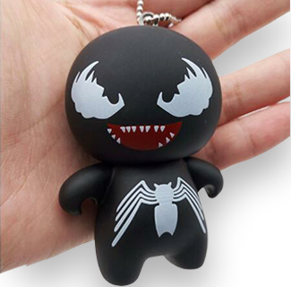 Venom Mini Plush Toy Strap