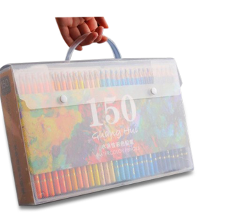 Brutfuner 150 Colors Professional Water Color Pencils Set