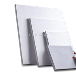 White Blank Square Artist Canvas Set For Canvas Painting