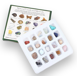 Geology Science Kit - Rock And Mineral Collection