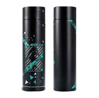 Hatsune Miku Thermos Steel Water Bottle with LED Temperature Display