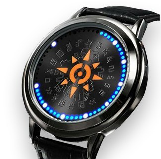 Digimon Adventure Tri. Crest of Courage - Waterproof Touchscreen LED Wristwatch