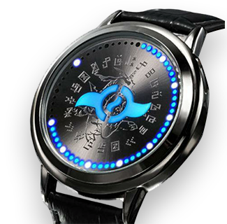 Digimon Adventures Tri. Crest of Friendship - Waterproof Touchscreen LED Wristwatch