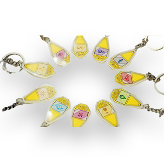 Digimon Adventures Crest Collection Keychains