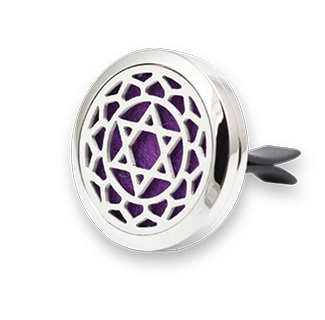 Stainless Steel Chakra Magic Circle Aroma Diffuser Locket Pendant 10pcs