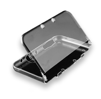 3DS XL Clear Plastic Hard Shell Protective Case