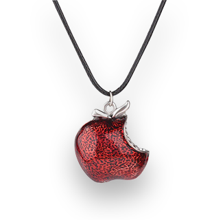Snow White - A Bite Of The Poison Apple Pendant Necklace