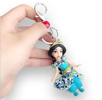 Disney Princess Mini Figure Keychain (Jasmine)