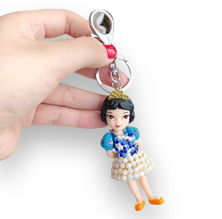Disney Princess Mini Figure Keychain (Snow White)