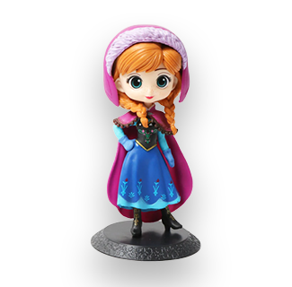 Disney Princess PVC Action Figure - Anna (Frozen)