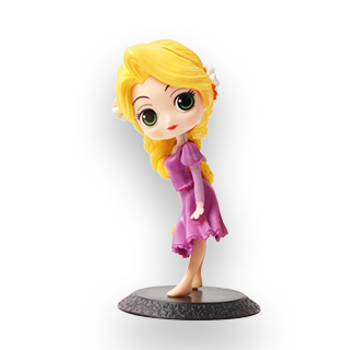 Disney Princess PVC Action Figure - Rapunzel