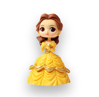 Disney Princess PVC Action Figure - Belle (Beauty & The Beast)