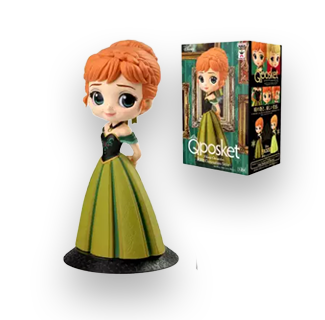 Disney Princess Q Posket Action Figure - Anna (Frozen)