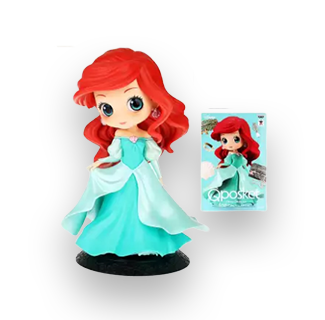 Disney Princess Q Posket Action Figure - Ariel (My Little Mermaid)