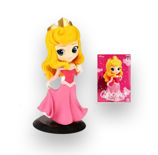 Disney Princess Q Posket Action Figure - Aurora (Sleeping Beauty)