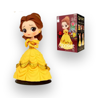 Disney Princess Q Posket Action Figure - Belle (Beauty & The Beast)
