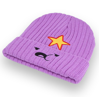 Lumpy Space Knitted Beanie