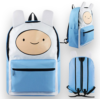 Adventure Time Character Backpack - Finn