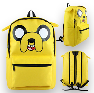 Adventure Time Character Backpack - Jake