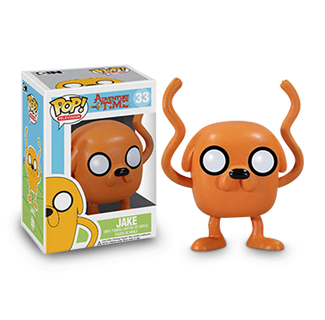 Funko Pop Adventure Time - Jake Action Figure