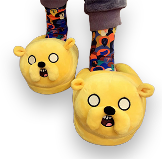 Adventure Time Character Plush Home Slipper - Jake